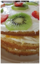 Fruity Tres Leches Cake