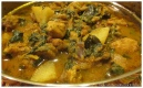 Easy Indian Chicken curry (Saag Aloo Chicken)