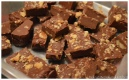 Chocolate Caramel walnut fudge