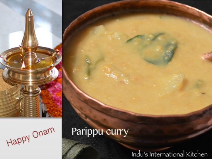 Discover The Secret Of Traditional Indian Vegan Dishes-parippu_onam