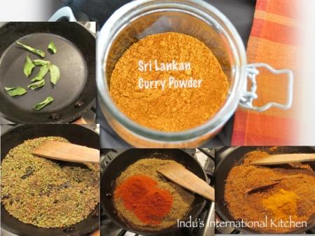 Sri Lankan curry powder