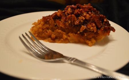 Pumpkin Caramel Pecan Pie