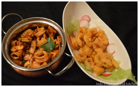 Gluten free Fried Calamari