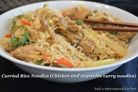 Curried Rice Noodles