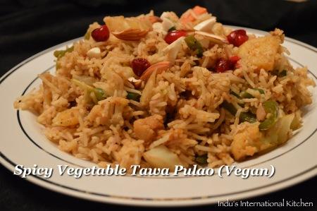 Tara Vegetable pulao