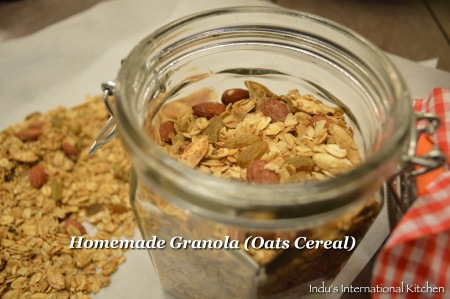 Homemade Oats cereal