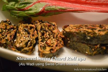 Swiss Chard Roll ups